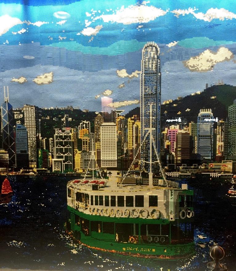 Hong Kong view lego