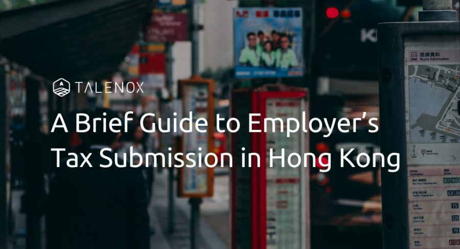 tax submission hong kong
