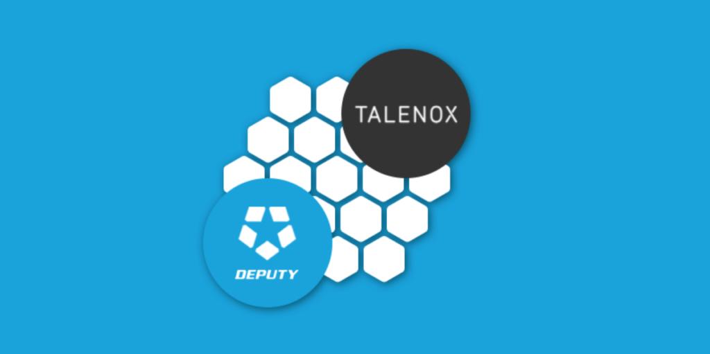 Talenox and Deputy logos