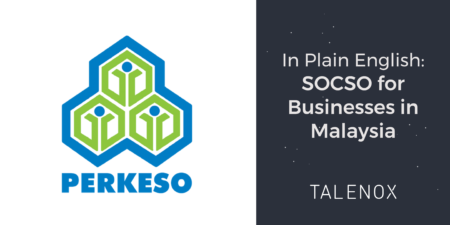 PERKESO logo and banner