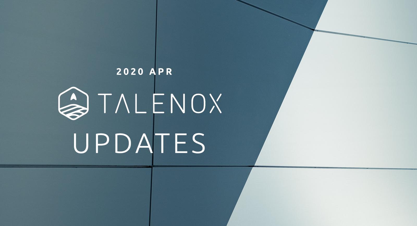 talenox updates