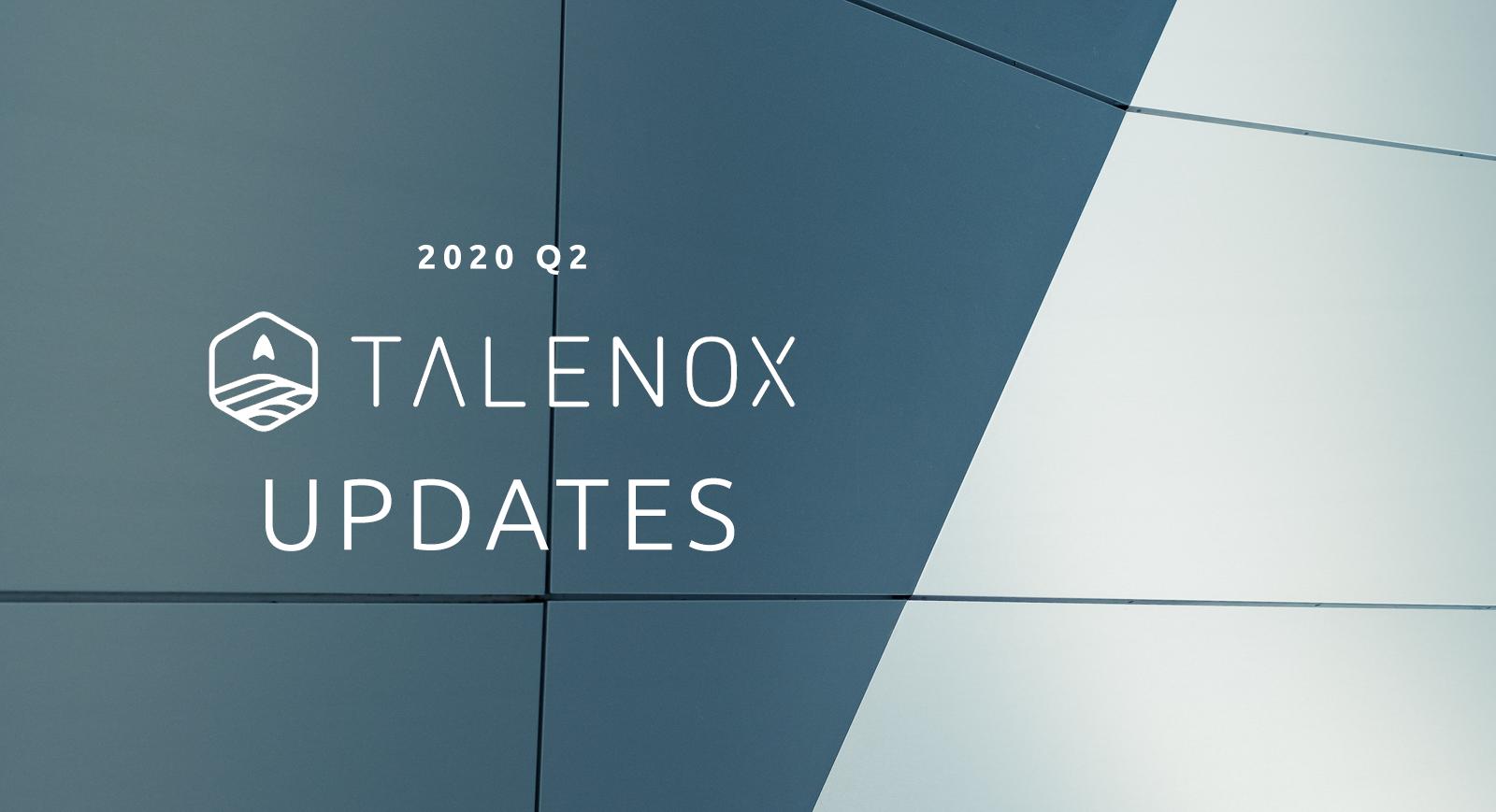 talenox updates 2020 q2