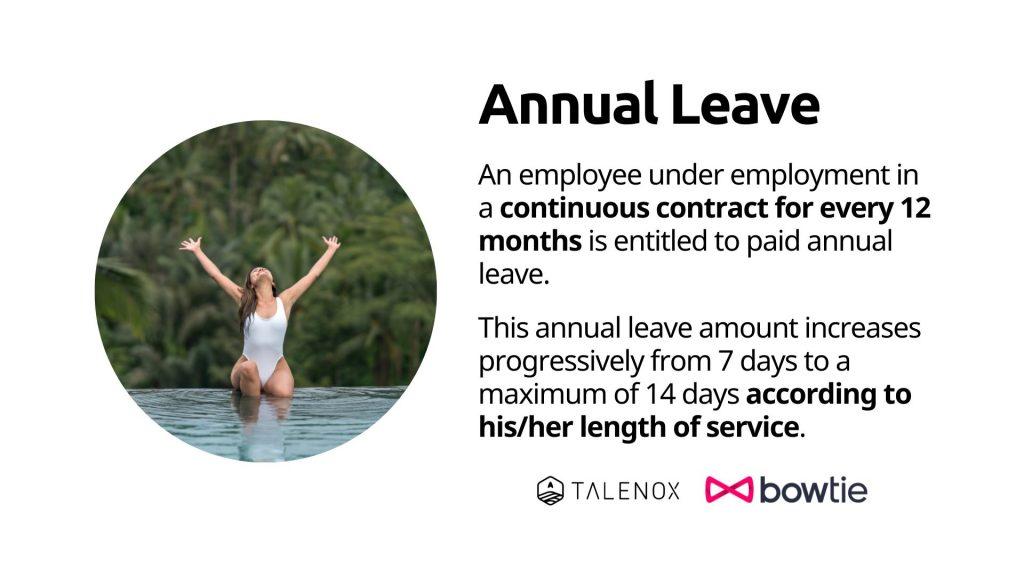 Hong Kong annual leave